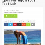 Mind Body Green hip flexors